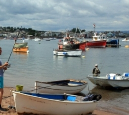Beach at teignmouth